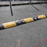 減速帯,駐車場安全対策