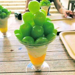 葡萄屋のシャインマスカットパフェ